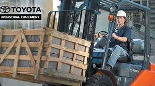 Forklift training course contact 071 459 3752
