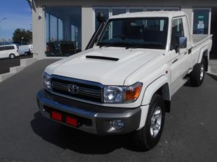 2020 LAND CRUISER 79 4.5D4-D LX V8 WITH 50KM FOR SALE