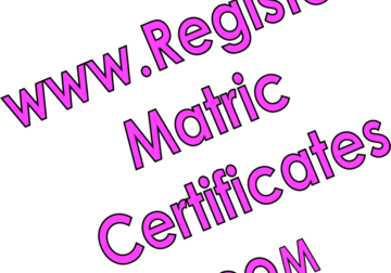Need a Diploma, Matric Certificate, Degree or Licence?