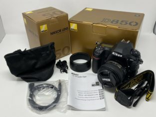 Nikon D850 45.7MP FX Digital SLR Camera With Nikkor 50mm Lens