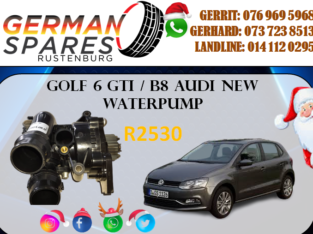 NEW GOLF 6 GTI / B8 AUDI WATERPUMP FOR SALE!!!