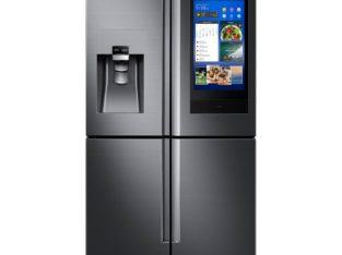 Samsung Fingerprint Resistant Black Stainless 4-Door Flex French