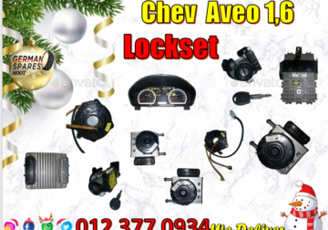 Chev Aveo 1.6 lockset