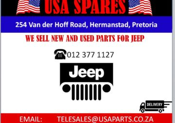 WE SELL/ JEEP/ NEW AND USED/ REPLACEMENT PARTS