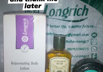 LONGRICH PRODUCT AVAILABLE FOR SALE AND REGISTRATION