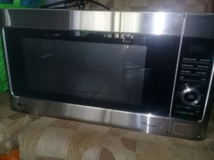 Pre loved LG MS5682x 56 Litre capacity microwave oven for sale