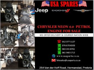CHRYSLER/ NEON 2.0/ PETROL ENGINE/ FOR SALE