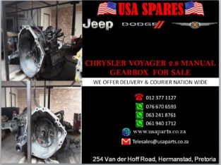 CHRYSLER/ VOYAGER 2.8/ MANUAL GEARBOX/ FOR SALE