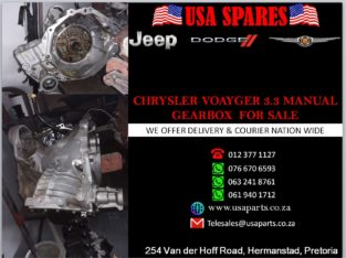 CHRYSLER/ VOYAGE 3.3/ MANUAL GEARBOX/ FOR SALE