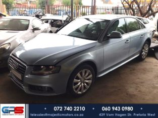 Audi A4 B8 2008 1.8T Ambition Stripping for Used Spares