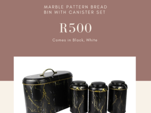 Bread bin and canister sets