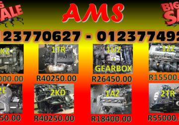 Toyota Engines for sale