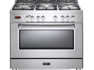 Elba Stainless Steel 90cm Gas / Electric Cooker – 01/9S4EX937N