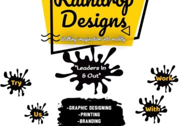 Graphic designing, printing, embroidery and branding services
