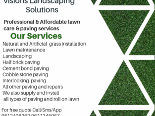 Transforming your Landscaping dreams to reality