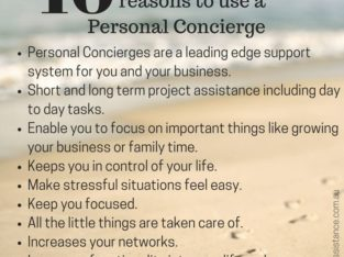LeConcierge Consulting – Personal Concierge and Errand Services