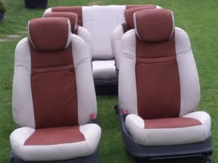 Car seats and upholstery services