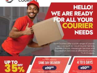 Fast and Reliable Courier Services around Gauteng