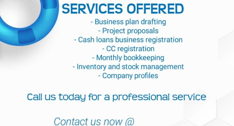 Get your business registered in Namibia, bookkeeping and many mor