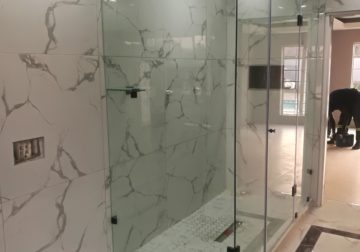 We supply and install wide range of frameless glass products