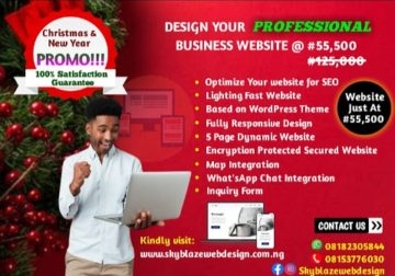 Create a Responsive Website To Promote and Brand your Business