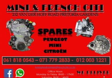 New and Second hand spares.