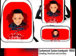 Personalized Pre-school Schoolbags