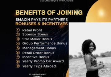 Helping people attain financial freedom through smacin global