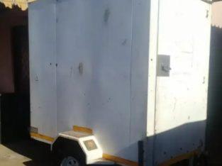 Food Caravan/Trailer BARGAIN!! With FREE Gas Deep Fryer