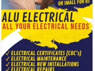 For all your Electrical needs including Certificate of Compliance
