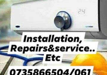 Aircon & Refregeration, installation, repairs&services