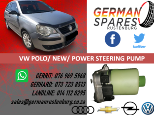 VW POLO/NEW/POWER STEERING PUMP FOR SALE