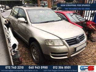 Volkswagen Touareg R5 2008 TDI Stripping for Used Spares