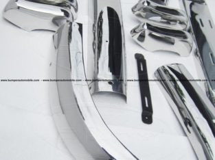 Volvo PV 544 Euro 1958-1965 Front & Rear Bumper Complete Kit
