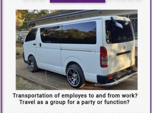 Shuttle Service For Staff , School Runs , Functions ,Outings….