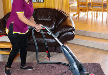 Dusted cleaning services