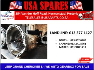 JEEP/ GRAND CHEROKEE/ 6.1 WK1/ AUTOMATIC/ GEARBOX/ FOR SALE