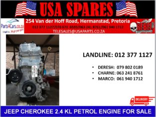 JEEP/ CHEROKEE/ 2.4 KL/ PETROL/ ENGINE/ FOR SALE/ USA PARTS