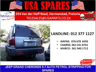 JEEP/COMMANDER/5.7 AUTOMATIC/PETROL/STRIPPING FOR SPARES/USA