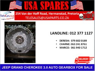 JEEP/ GRAND CHEROKEE/ 3.0 WK1/ AUTOMATIC/ GEARBOX/ FOR SALE/ USA