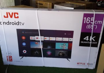 65″ JVC ANDROID TV QLED
