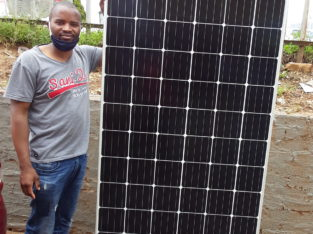 We sell solar panels. Solar batteries etc and we do installation