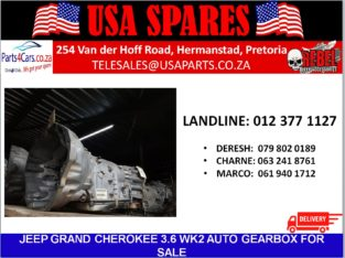 JEEP/ GRAND CHEROKEE/ 3.6 WK2/ AUTOMATIC/ GEARBOX/ FOR SALE/ USA