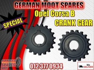 Crank Gear-Opel Corsa B-New and used spare parts