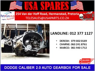 DODGE/ CALIBER 2.0/ AUTOMATIC/ GEARBOX/ FOR SALE/ USA PARTS