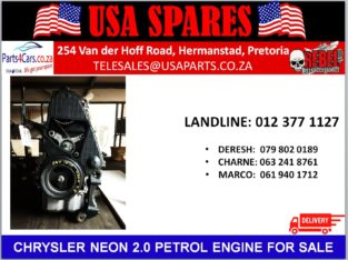 CHRYSLER/ NEON 2.0/ PETROL/ ENGINE/ FOR SALE/ USA PARTS