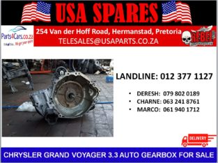 CHRYSLER/ GRAND VOYAGER 3.3/ AUTOMATIC/ GEARBOX/ FOR SALE