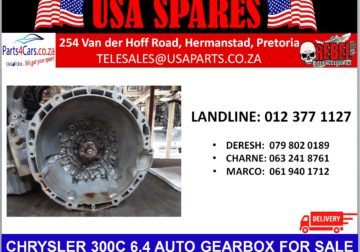 CHRYSLER/ 300C 6.4/ AUTOMATIC/ GEARBOX/ FOR SALE/ USA PARTS