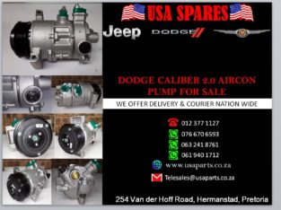 DODGE/ CALIBER 2.0/ NEW AND USED/ AIRCON PUMP/ FOR SALE