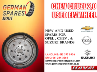 CHEV CRUZE USED FLYWHEEL FOR SALE